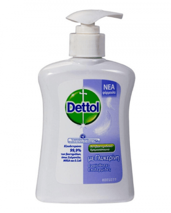 Dettol Sensitive Antibacterial Hand Wash With Glycerin 250ml