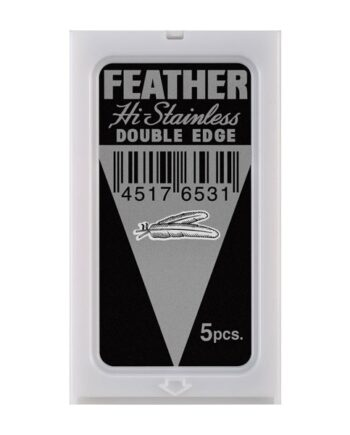 Feather Platinum Coated Blade 5pcs