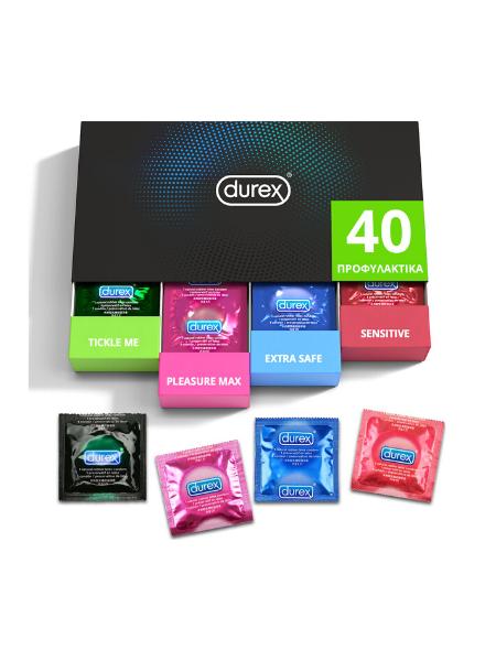 Durex Surprise Me Variety Pack 40τμχ