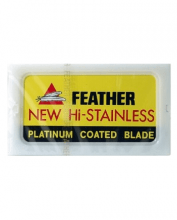 Feather Platinum Coated Blade 10pcs