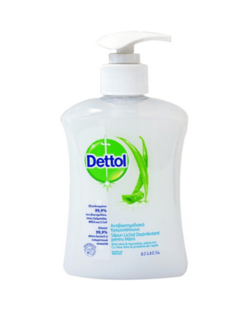 Dettol Moisture Aloe Vera & Milk Proteins Liquid Hand Wash 250ml Pump