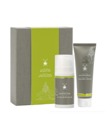 MUHLE MPS AV Shaving Care set - MÜHLE Aftershave Balm Aloe Vera 100ml- Shaving cream Aloe Vera 75 ml