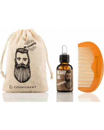 Cosmogent Mr. Authentic Beard Oil 30ml , Cosmogent Beard & Hair Comb
