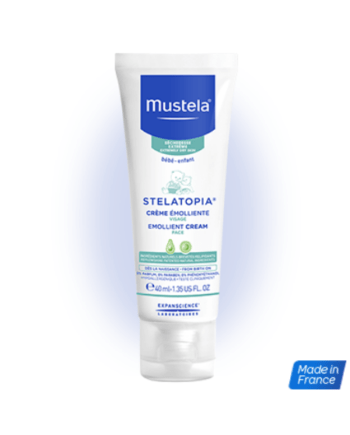Mustela Bebe Emollient Face Cream 40ml