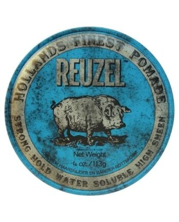 Reuzel Blue Pomade Strong Hold Water Soluble High Sheen 113gr