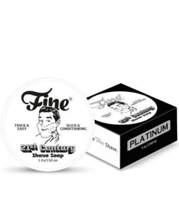 Fine Accoutrements Platinum Fine Shaving Cream New Formula 150ml