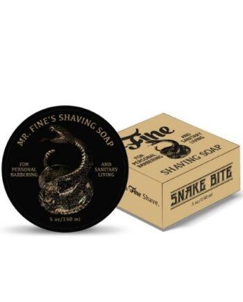 Fine Accoutrements Snake Bite Shaving Soap 150ml