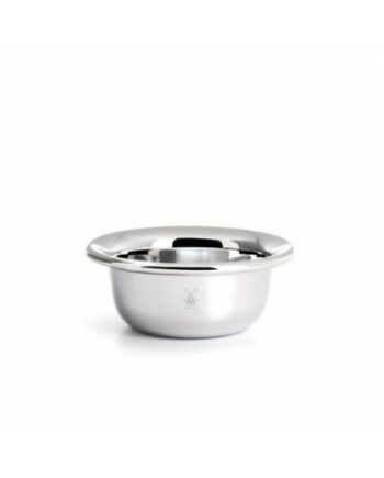 Muhle RN6 Shaving Bowl Stainless Steel Chrome Plated
