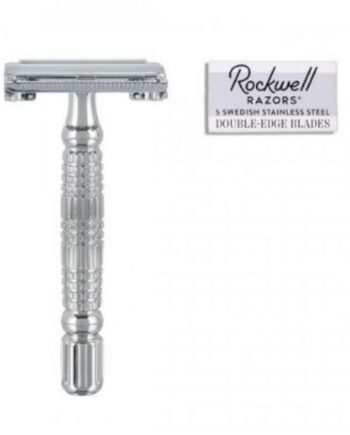 Rockwell Razors R1 White Chrome Safety Razor