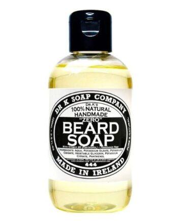 Dr K Soap Beard Soap Zero with Vit B5 fragrance free 100ml