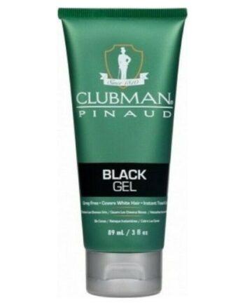 Clubman Pinaud Temporary Colour Gel Black 89ml