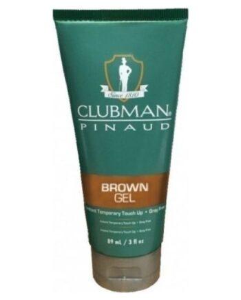 Clubman Pinaud Temporary Colour Gel Brown 89ml