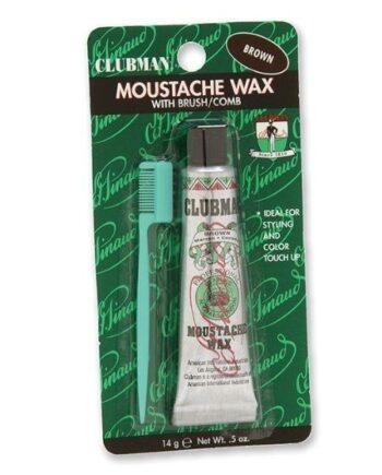Clubman Pinaud Moustache Wax Brown 14g